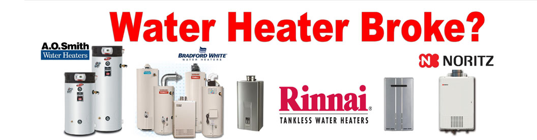 WATER HEATER INSTALLATION-SAME DAY SERVICE